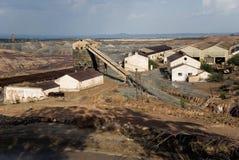 Vieille mine en Espagne. Images libres de droits