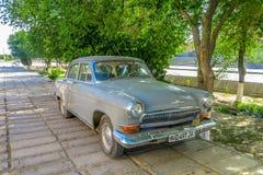 Vieille minuterie de l'Ouzbékistan image libre de droits