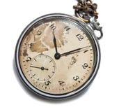 Vieille montre de poche photo stock