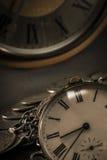 Vieille montre de poche Image libre de droits