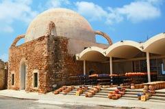 Vieille mosquée dans Chania Image libre de droits