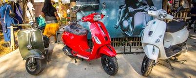 Vieille moto Photo libre de droits