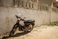 Vieille motocyclette Photo stock