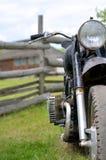Vieille motocyclette Images libres de droits