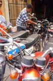 Vieille motocyclette Image libre de droits