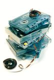 Vieille musique de cassette Image stock