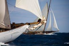 vieille navigation de bateau Photo stock