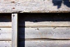 Vieille palette en bois superficielle par les agents image libre de droits
