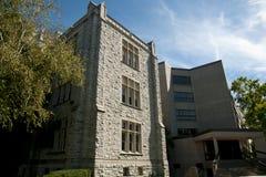 Vieille partie de Miller Building et plus nouveaux Bruce Wing - Kingston - Canada Photographie stock