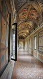 Vieille passerelle baroque de palais dans Mantua Italie Photo stock