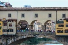 Vieille passerelle de Florence Photographie stock libre de droits