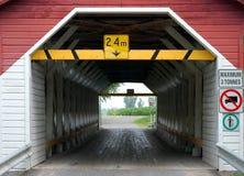 Vieille passerelle en bois Image libre de droits