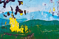 Vieille peinture Photos stock