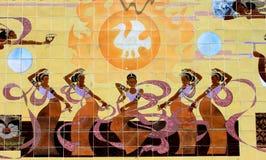 Vieille peinture chinoise de contes de fées Image stock