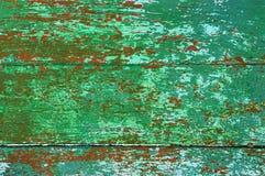 Vieille peinture d'une structure en bois Photo libre de droits