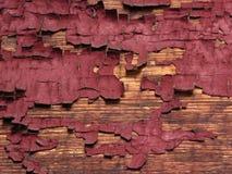 Vieille peinture rouge Images libres de droits