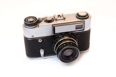 vieille photo d'appareil-photo image stock