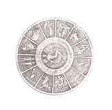 Vieille pièce de monnaie Images stock