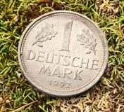 Vieille pièce de monnaie allemande Photo stock