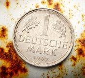 Vieille pièce de monnaie allemande Photographie stock