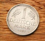 Vieille pièce de monnaie allemande Photos libres de droits
