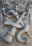 Vieille pierre tombale Image libre de droits