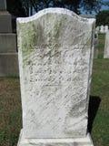 Vieille pierre tombale Images libres de droits