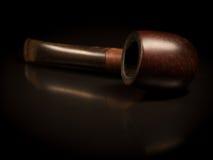 Vieille pipe brune Photo libre de droits