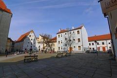 Vieille place de Budweis Image stock