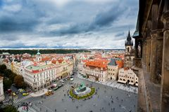 Vieille place de Prague image stock