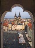 Vieille place de Prague Photos stock