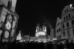 Vieille place de Prague Photo stock