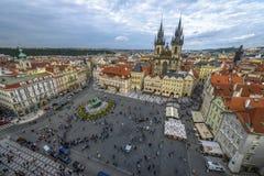 Vieille place de Pragues Photo libre de droits