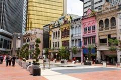 Vieille place du marché en Kuala Lumpur Image libre de droits