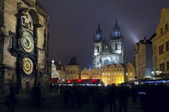Vieille place, Prague. Photos stock