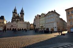 Vieille place, Prague Images libres de droits