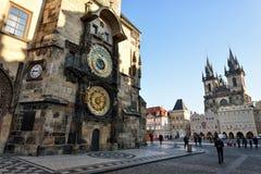 Vieille place, Prague image stock