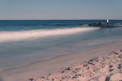 Vieille plage Photographie stock libre de droits