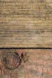 Vieille planche avec la texture Photos libres de droits