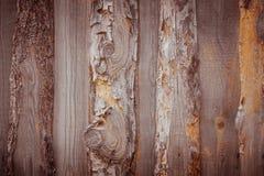 Vieille planche en bois Photos libres de droits