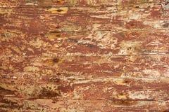 Vieille planche en bois du bateau Image stock