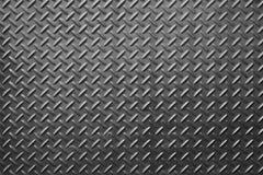Vieille plaque d'acier à carreaux Photographie stock libre de droits