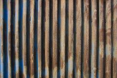Vieille plaque d'acier Images stock