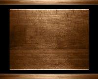 Vieille plaque en bois ou texture Image libre de droits