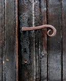 Vieille poignée de porte antique Images stock