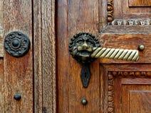 Vieille poignée de porte antique Images libres de droits