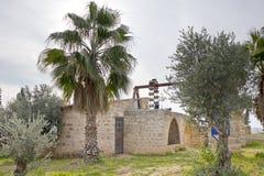 Vieille pompe à eau Binyamina Image stock