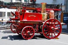 Vieille pompe à incendie de vapeur Photos libres de droits