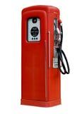 Vieille pompe d'essence antique d'isolement Photos stock