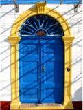 Vieille porte Image stock